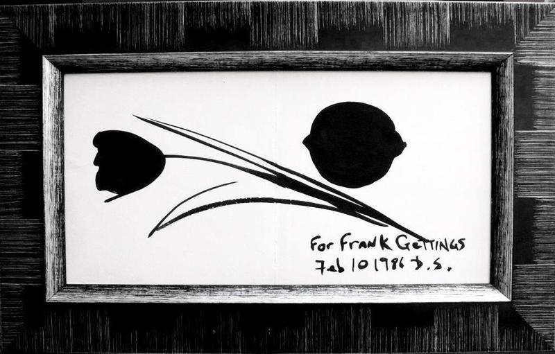 Donald SULTAN - Painting - Lemon & tulip