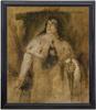 Franz Seraph VON LENBACH - Painting - Ernst von Possart als Richard III
