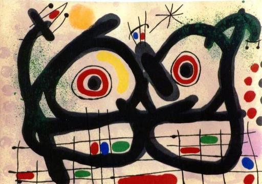 Joan MIRO - Estampe-Multiple - *M. 515, Les Lizards de Plumes D'