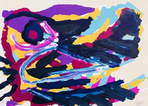 卡尔-阿佩尔 - 版画 - Abstraction