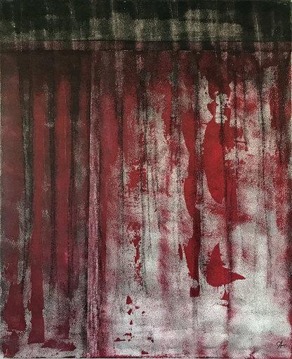 Anna COCCIA - 绘画 - Le rideau