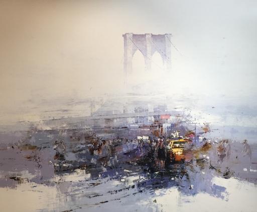 Jacek HAZUKA - Pintura - Brooklyn Bridge