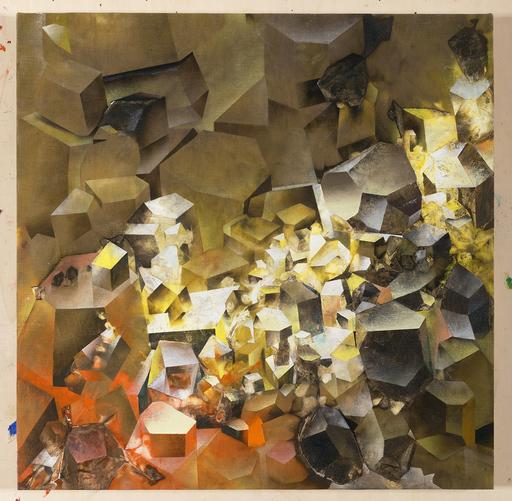 Marcello JORI - Pintura - Giacimento Jori