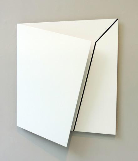 Gerhard FRÖMEL - Skulptur Volumen - Weiss-Weissraum