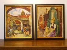 Franz KIENMAYER - Painting - Dürnsteiner Genre