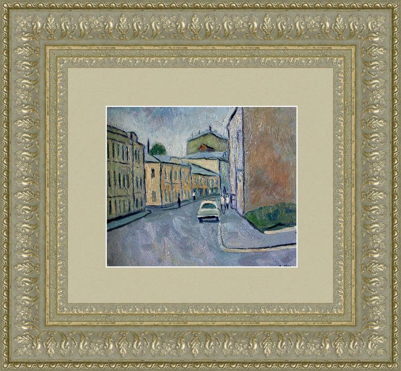 Valeriy NESTEROV - Pintura - Malaya Ordinka Street. Moscow