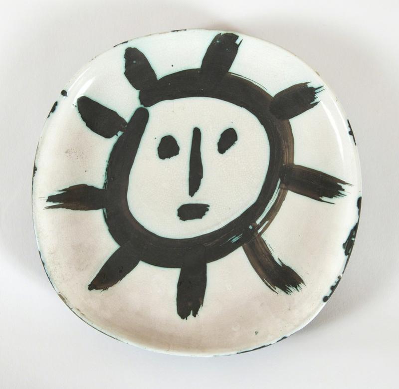 Pablo PICASSO - Ceramic - Plat Soleil