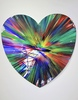 "Damien HIRST - Painting - ""Heart Spin Painting Diptych"""