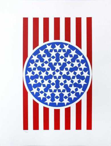 Robert INDIANA - Print-Multiple - New Glory banner