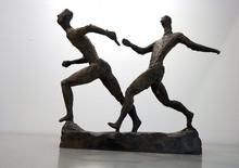 Gerhard MARCKS - Escultura - Kleine Staffelläufer