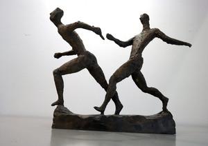 Gerhard MARCKS - Sculpture-Volume - Kleine Staffelläufer