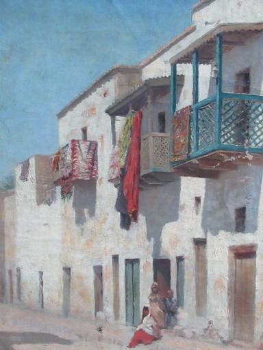 Joseph SINTES - Pittura - Village algérien