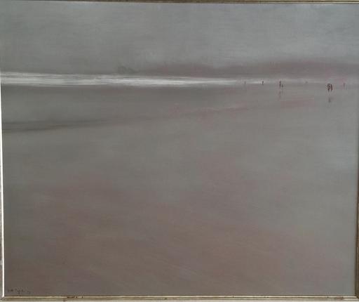 """Ignacio GARCIA ERGÜIN - Painting - """"Arena gris"""""""