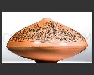 André COTTAVOZ - Ceramic - L' été sur la croisette - Cottavoz 2005