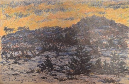 Leonid Romanovitch SOLOGUB - Drawing-Watercolor - Landscape