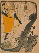 Henri DE TOULOUSE-LAUTREC (1864-1901) - Jane Avril