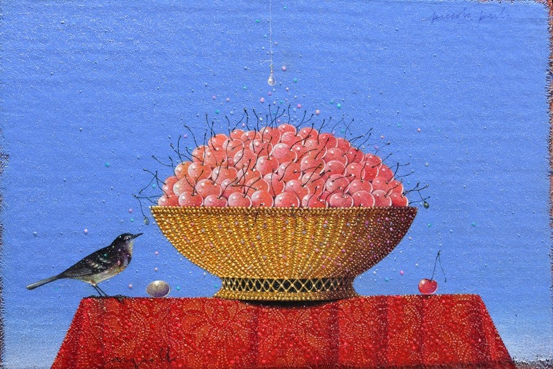 Claudio CARGIOLLI - Pintura - Piccola perla