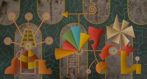Enrique Rodriguez GUZPENA - Pintura - Esbozo de lejos
