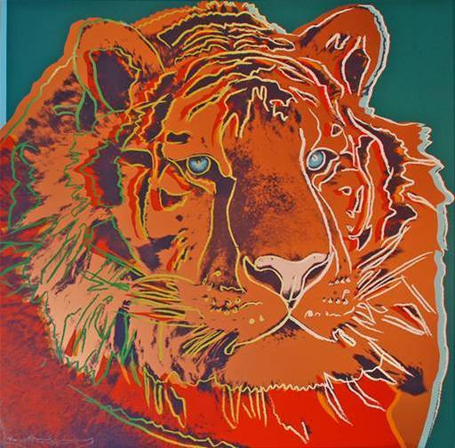 Andy WARHOL - Print-Multiple - Siberian Tiger