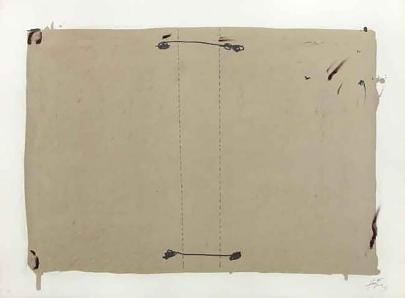 Antoni TAPIES - Print-Multiple - 3. Nocturno Matinal 2