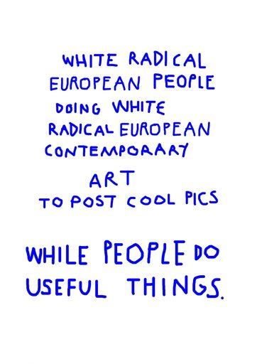 María ALCAIDE - Disegno Acquarello - « White radical artists »