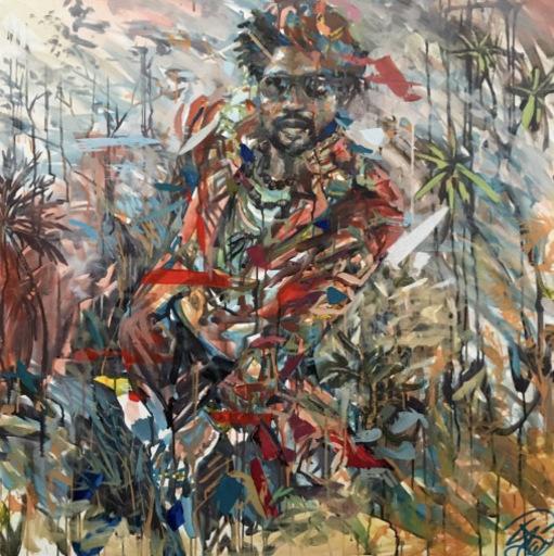 Henri LAMY - Painting - Sapeur