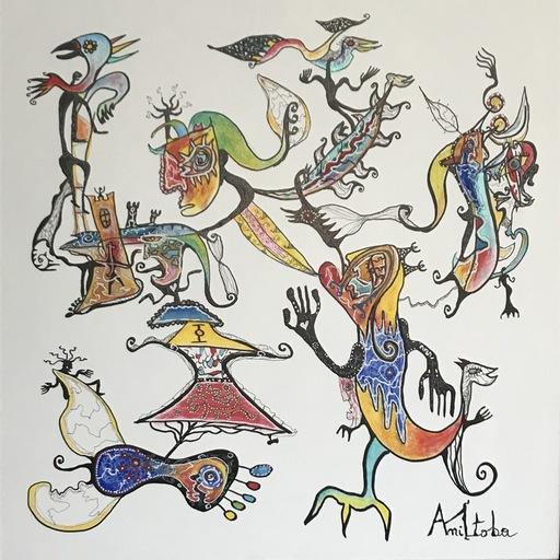 MANITOBA - Peinture - Escalad'âmes