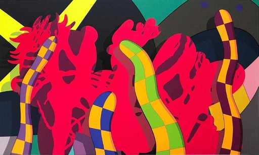 KAWS - Estampe-Multiple - Lost time