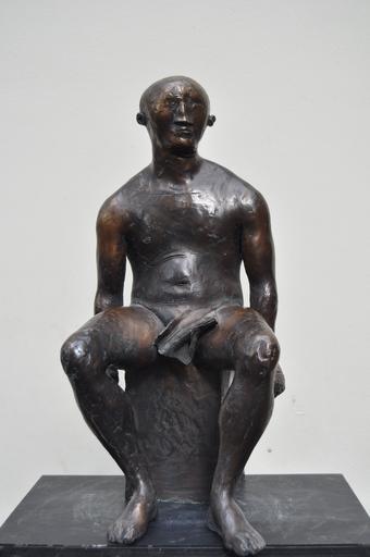 Viktor Ivanovich KORNEEV - Skulptur Volumen - Fighter