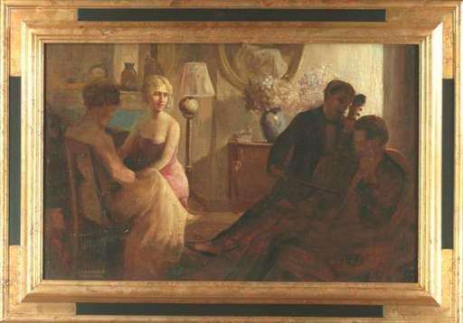 Max KLINGER - Gemälde - Munich