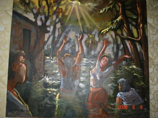 Dmitry Alexandrovich KOSMINE - Pintura - l'inondation