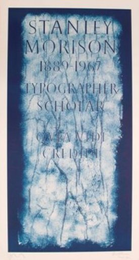 Scott MYLES - Print-Multiple - A History of Type Design / Stanley Morison, 1889-1967 (Londo