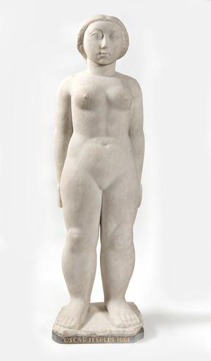 Oscar JESPERS - Skulptur Volumen - Nu
