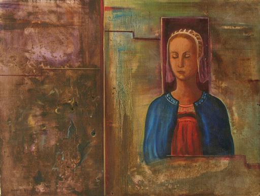Robert VARADY - Pintura - Frau