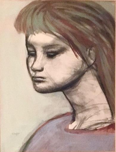 Josef PRESSER - Drawing-Watercolor
