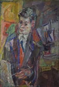 Michel KIKOINE - Peinture - Portrait of Jacques Shalom