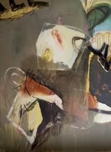 Moris GONTARD - Pintura - Les souvenirs s'envolent