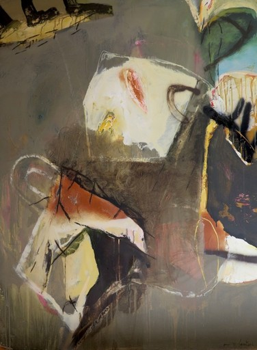 Moris GONTARD - Painting - Les souvenirs s'envolent