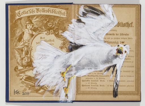 Kristin KOLB - Drawing-Watercolor - Lachmöwe