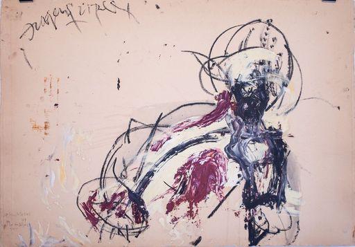 Carsten NICOLAI - Drawing-Watercolor - Kopf an Körper