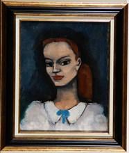 Pierre ABADIE-LANDEL - Peinture - '' Portrait de la femme de l'artiste ''