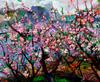 ZHENG Judy C. - Gemälde - Peach Garden Outside The World
