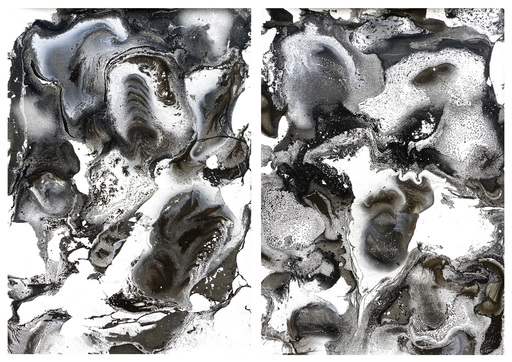 Sumit MEHNDIRATTA - Painting - Composition No.165