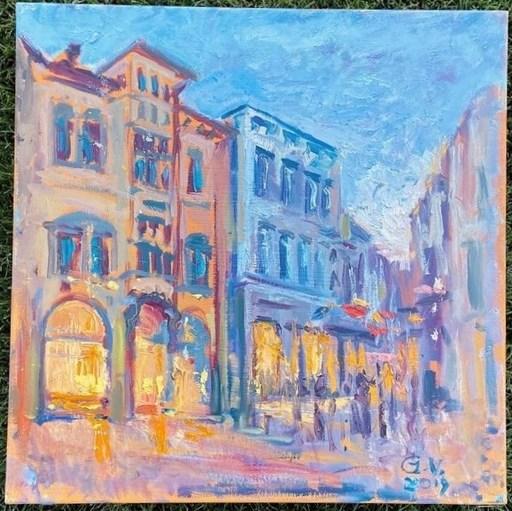 Viktor GUTSUL - Gemälde - Night lights