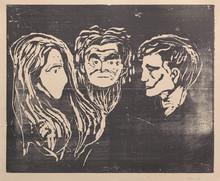 "Edvard MUNCH (1863-1944) - ""Begjær"" / ""Desire"""