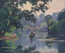 Paul Émile PISSARRO (1884-1972) - Barque á contre jour