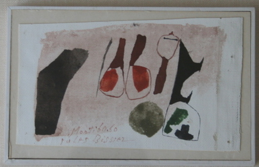 """Julius Heinrich BISSIER - Painting - """"Monti 60.60"""""""