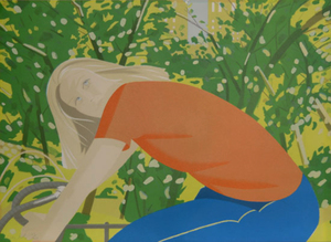 Alex KATZ, BICYCLING IN CENTRAL PARK