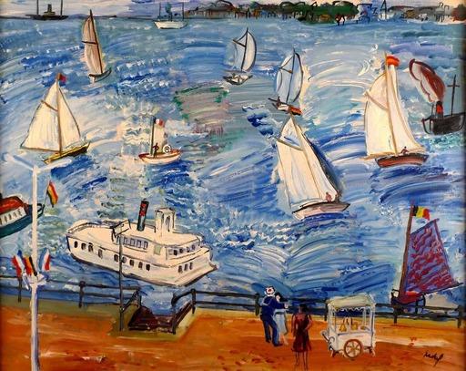 Carlos NADAL - Pintura - Fête Nautique