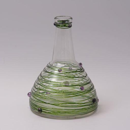 Carl Georg VON REICHENBACH - Vase avec applications